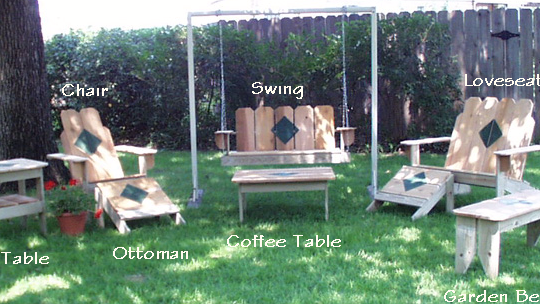 Picket Fence Furniture